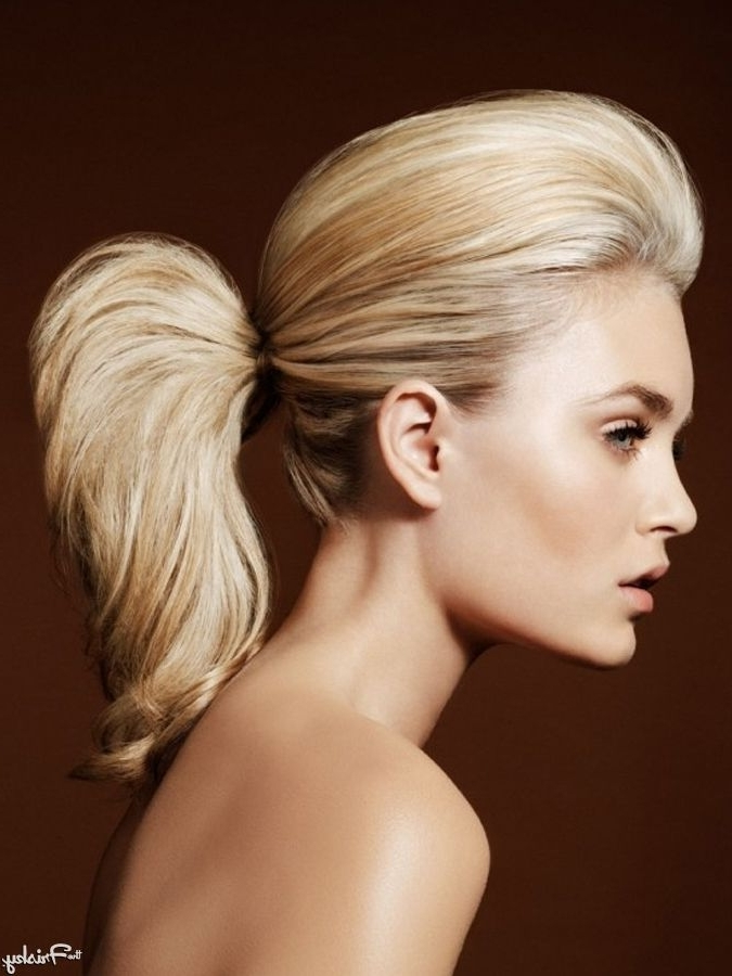 Bouffant Ponytail | ~Hair~Bouffant~ | Pinterest | Ponytail With Regard To Bouffant Ponytail Hairstyles (View 13 of 25)