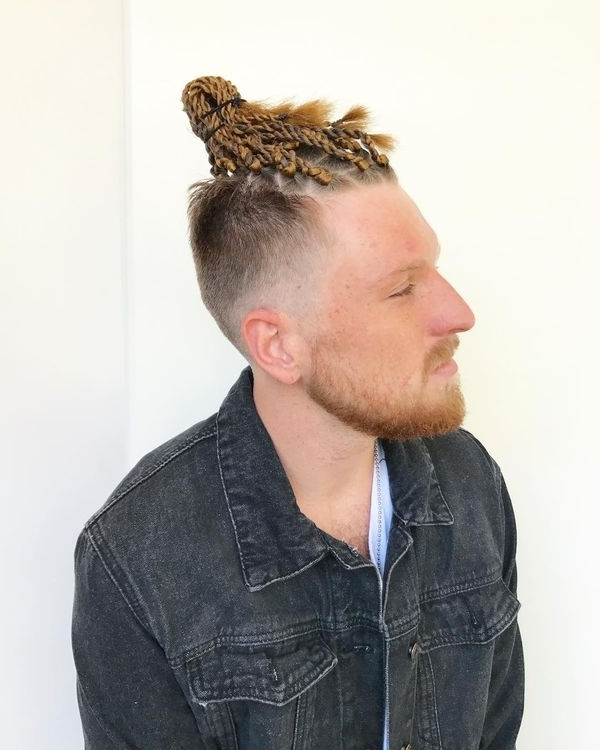 Braid Styles For Men, Braided Hairstyles For Black Man With Braided Mohawk Pony Hairstyles With Tight Cornrows (View 9 of 25)