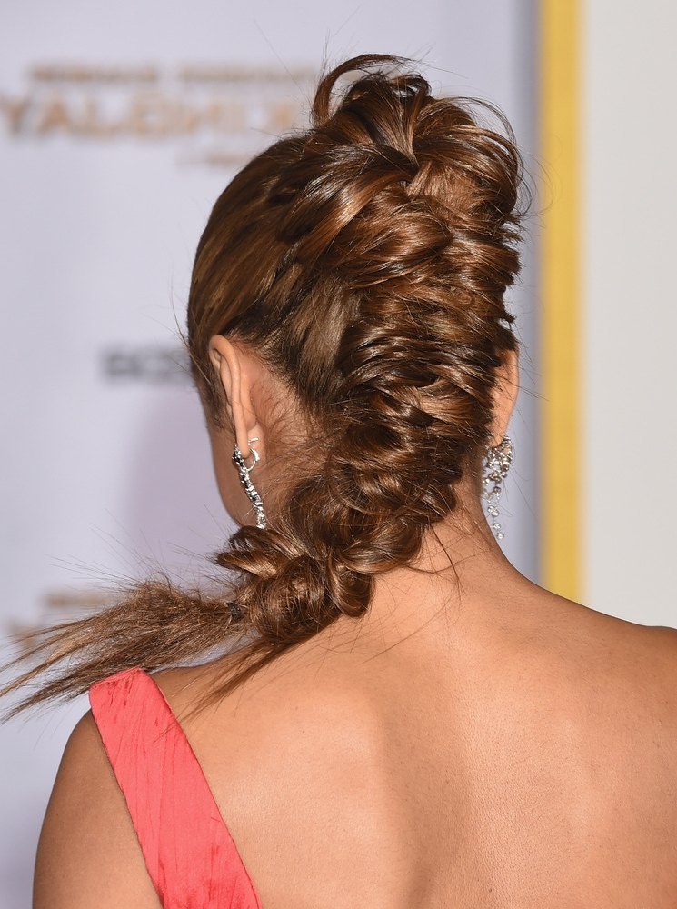 Braided Hairstyles – Style Samba For Chunky Ponytail Fishtail Braid Hairstyles (View 25 of 25)