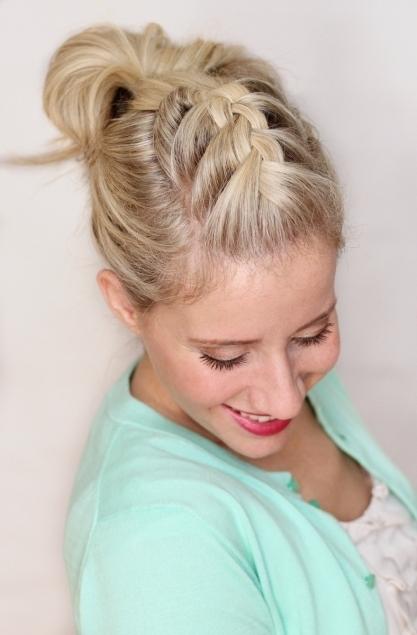 Braided Pompadour – Twist Me Pretty Regarding Pompadour Pony Hairstyles (View 21 of 25)