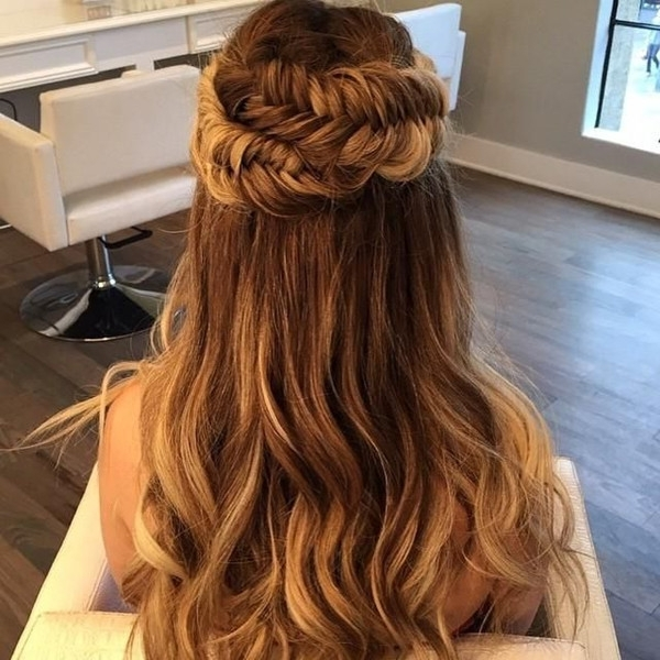 Braided Wavy Hair Styles Archives – Vpfashion Vpfashion Throughout Wavy And Braided Hairstyles (View 8 of 25)