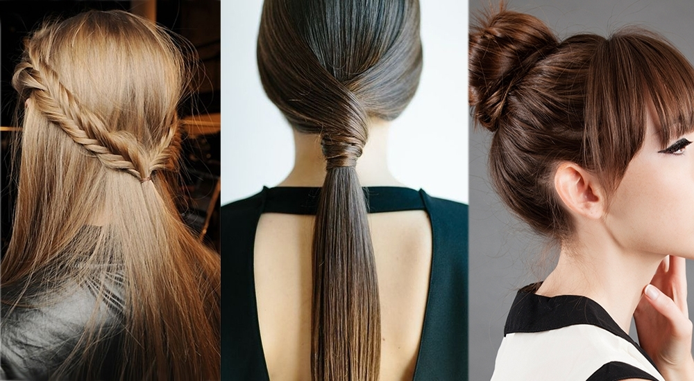 Braids & Ponytails: 25 Easy Hairstyles For Women With Fine Hair Throughout Two Toned Pony Hairstyles For Fine Hair (View 5 of 25)