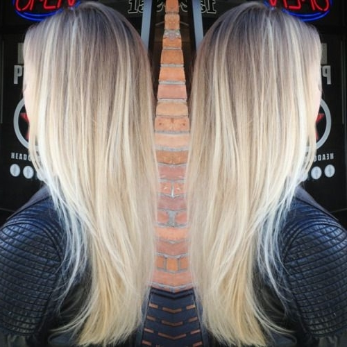 Bright Blonde Balayage – Google Search | Hair | Pinterest | Bright Throughout Layered Bright And Beautiful Locks Blonde Hairstyles (View 13 of 25)