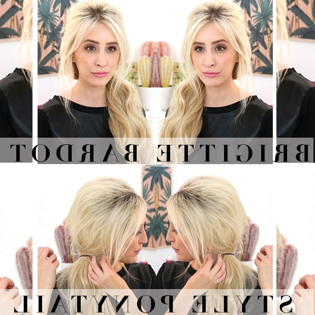 Brigitte Bardot Bouffant Ponytail | Hair Extensions Blog | Hair Inside Bardot Pony Hairstyles (View 17 of 25)