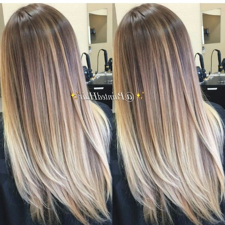 25 Best Blonde Color Melt Hairstyles
