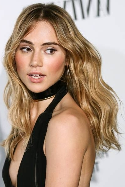 Bronde Hair Trend: Blonde Brunette Dye Ideas | Glamour Uk With Glamorous Mid Length Blonde Bombshell (View 12 of 25)