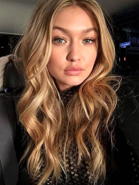Brown Hair With Butterscotch Highlights – Coolhairstyles (View 15 of 25)