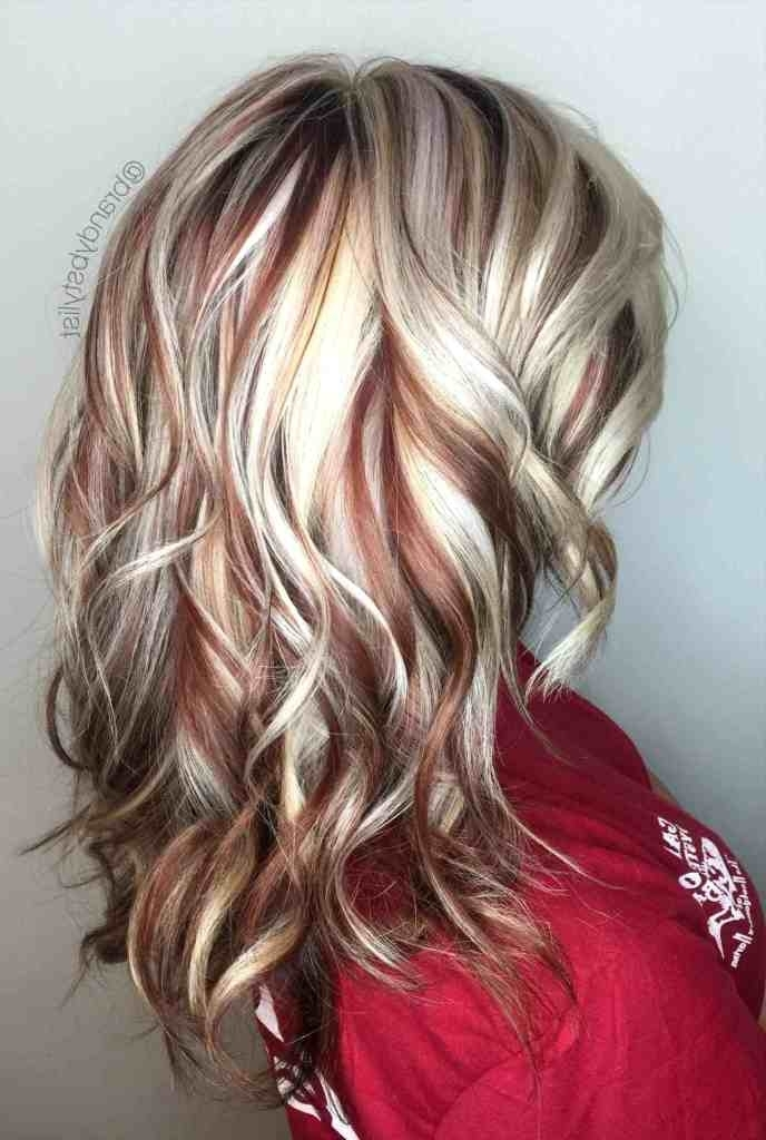 Brown Hair With Light Ash Blonde Highlights – Coolhairstyles (View 18 of 25)