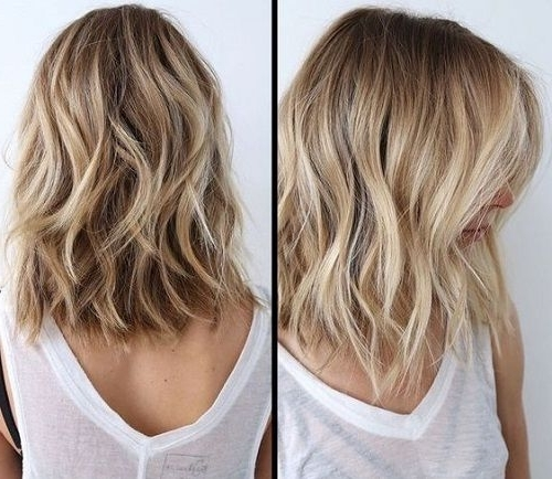 Brown Lowlights On Blond Hair | Hair | Pinterest | Blond, Brown And Inside Messy Blonde Lob With Lowlights (View 10 of 25)