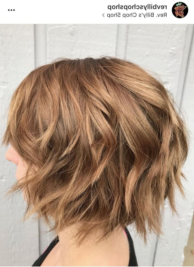 Brown Sugar Blonde | Dark Blonde Hair | Chin Length Bob | Curly Bob Inside Brown Sugar Blonde Hairstyles (View 15 of 25)