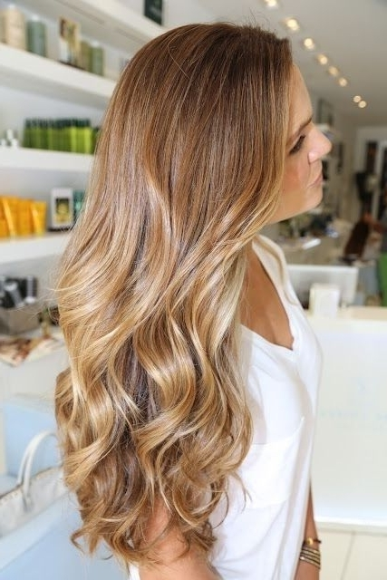 Featured Photo of Brown Sugar Blonde Hairstyles