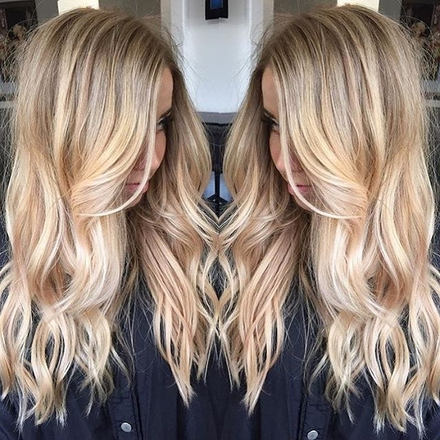 Brunette Balayage & Hair Highlights : Continuum On Instagram With Buttery Blonde Hairstyles (View 14 of 25)