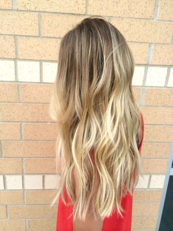 Brunette Balayage & Hair Highlights : Dirty Blonde Balayage Within Dirty Blonde Balayage Babylights Hairstyles (View 21 of 25)