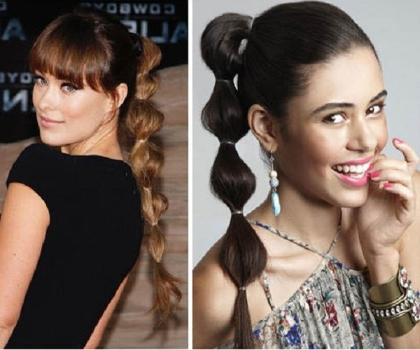 Bubble Ponytail Hairstyles For Girls – Fashion Trends Styles For 2014 Within High Bubble Ponytail Hairstyles (View 12 of 25)