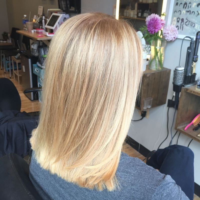 Butter Blonde Balayage Hair Painting Sandy Blonde Bright Towards In Buttery Blonde Hairstyles (View 10 of 25)
