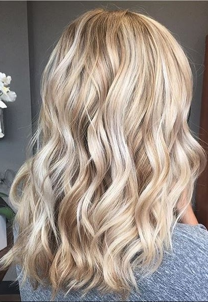 Butterscotch And Golden Blonde – Mane Interest For Golden Blonde Balayage Hairstyles (View 20 of 25)