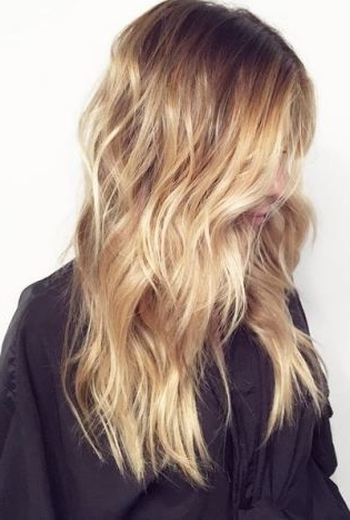 Featured Photo of Butterscotch Blonde Hairstyles