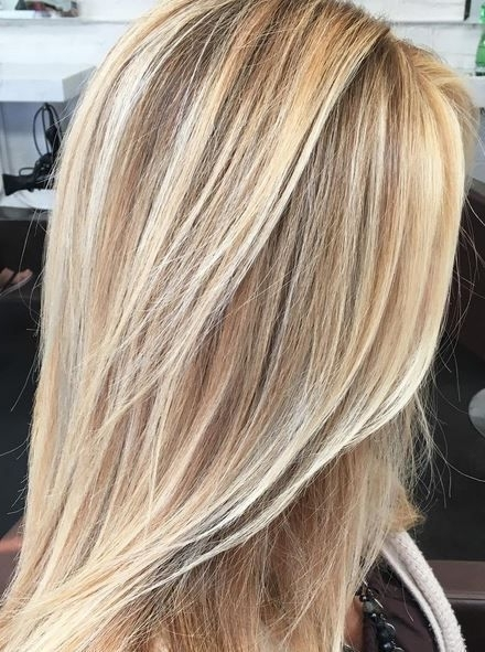 Buttery Blonde Highlights | Hair Color | Pinterest | Buttery Blonde Pertaining To Buttery Blonde Hairstyles (View 2 of 25)