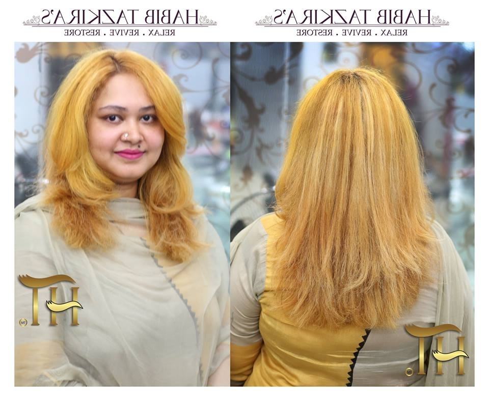 Buttery Blonde Medium Length Hairstyle – Blurmark Intended For Buttery Blonde Hairstyles (View 16 of 25)
