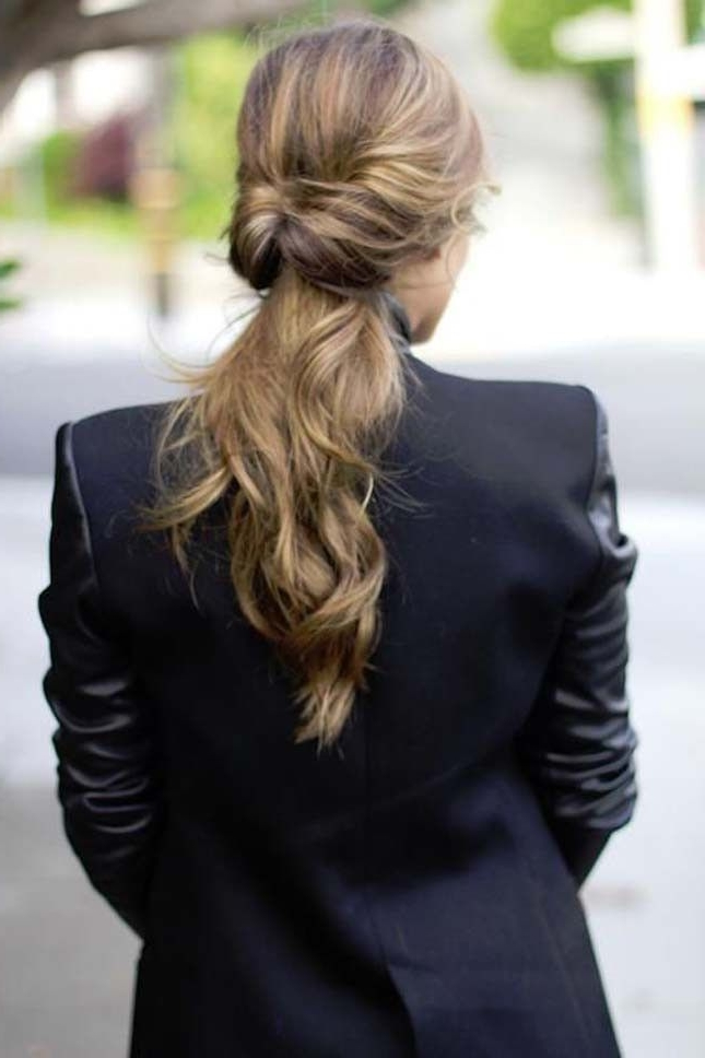 Cachos | Locks Of Hair | Pinterest | Hair Style, Hair Make Up And In Low Twisted Flip In Ponytail Hairstyles (View 7 of 25)