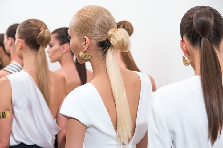 Catwalk Ponytail Hairstyles | Hairstyles For Women 2019, Haircuts Pertaining To Loose And Looped Ponytail Hairstyles (View 5 of 25)