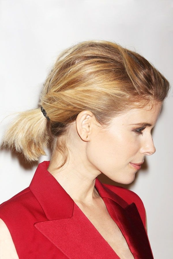 Celebrity Ponytail Pictures – Celeb Hairstyles   Hair Style In Twisted And Tousled Ponytail Hairstyles (View 16 of 25)