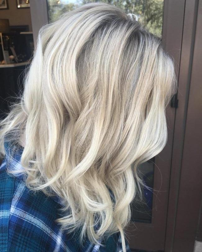 Chamomile Babylights Over Diamond Blonde Locks | Hair | Pinterest Regarding Long Platinum Locks Blonde Hairstyles (View 18 of 25)