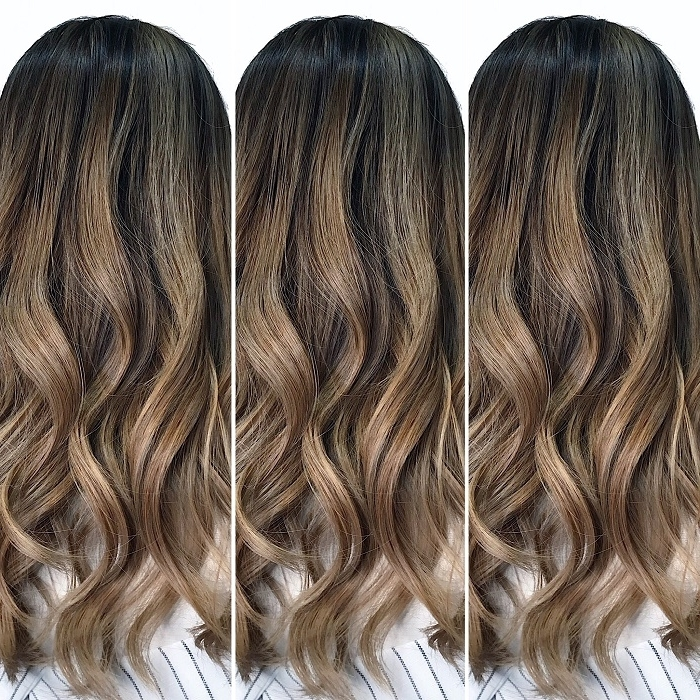 Chez Vous Throughout Beige Balayage For Light Brown Hair (View 23 of 25)