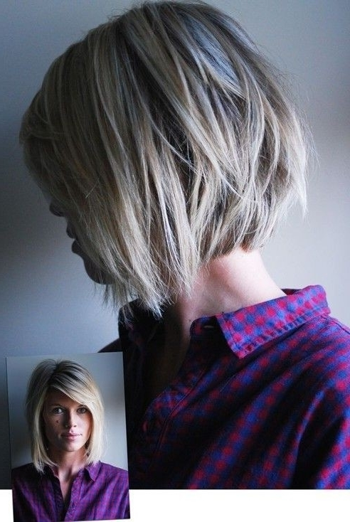 Chic Choppy Bob Hairstyle With Layers – Hairstyles Weekly Pertaining To Latest Choppy Side Parted Pixie Bob Hairstyles (View 21 of 25)