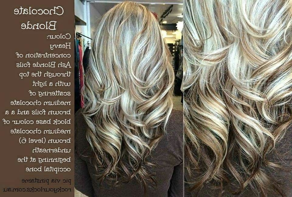 Chocolate Blonde | Hair Cuts, Colors, & Styles I Love | Pinterest Pertaining To Light Chocolate And Vanilla Blonde Hairstyles (View 10 of 25)