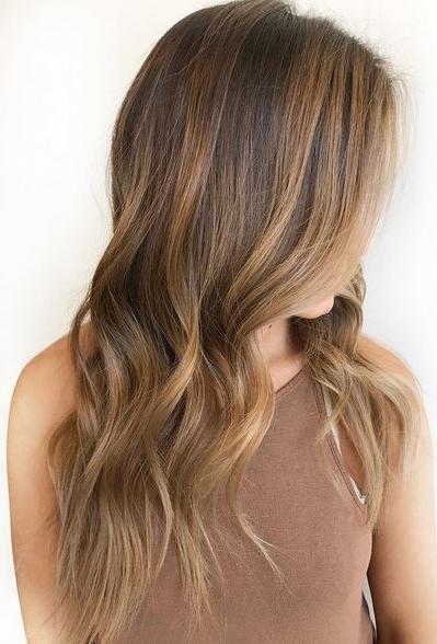 Cinnamon Brown Hair Color – Mane Interest Regarding Brown Sugar Blonde Hairstyles (View 14 of 25)
