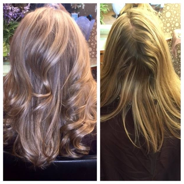 Classic Blonde To Pale Pink Champagne – Career – Modern Salon In Classic Blonde Balayage Hairstyles (View 20 of 25)