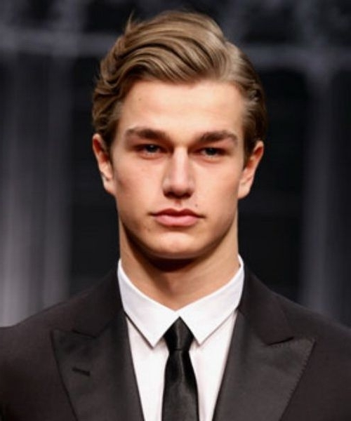 Classic Men Hairstyles Wavy Hair Classic Men Hairstyles Still With Regard To Casual And Classic Blonde Hairstyles (View 13 of 25)
