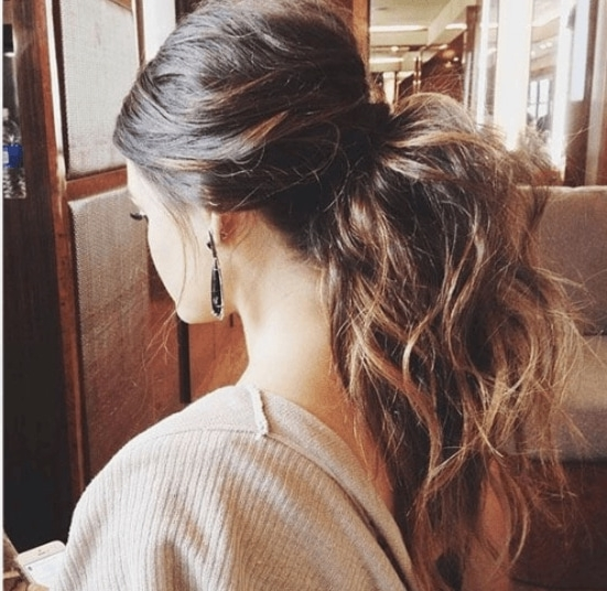 Club Hairstyles: Prep For A Big Night On The Tiles With These 16 Hot Intended For High Voluminous Ponytail Hairstyles (View 14 of 25)