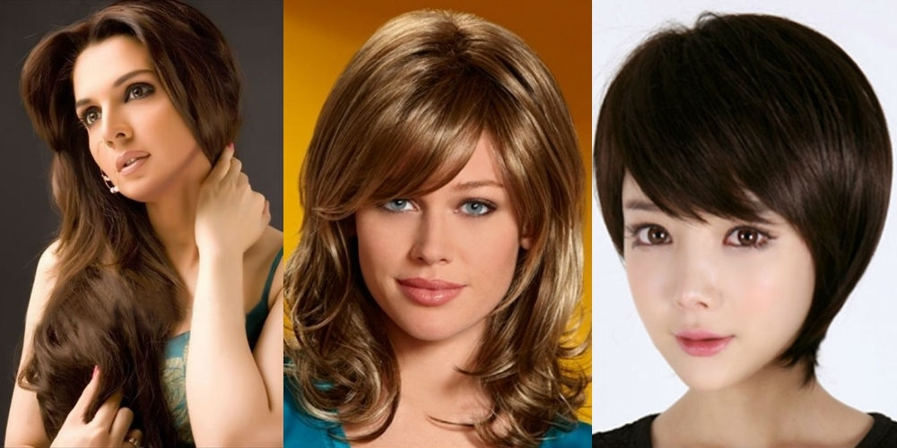 Collection Of Feather Cut Hair Styles For Short, Medium And Long Hair Regarding Feathered Cut Blonde Hairstyles With Middle Part (View 22 of 25)