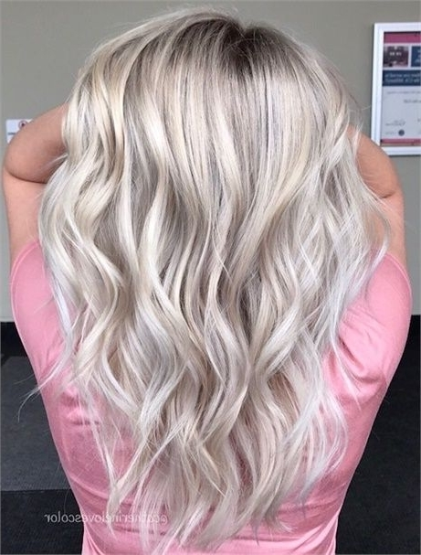 Color Correction: Grown Out And Faded To Icy Blonde Melt – Hair Within Blonde Color Melt Hairstyles (View 15 of 25)
