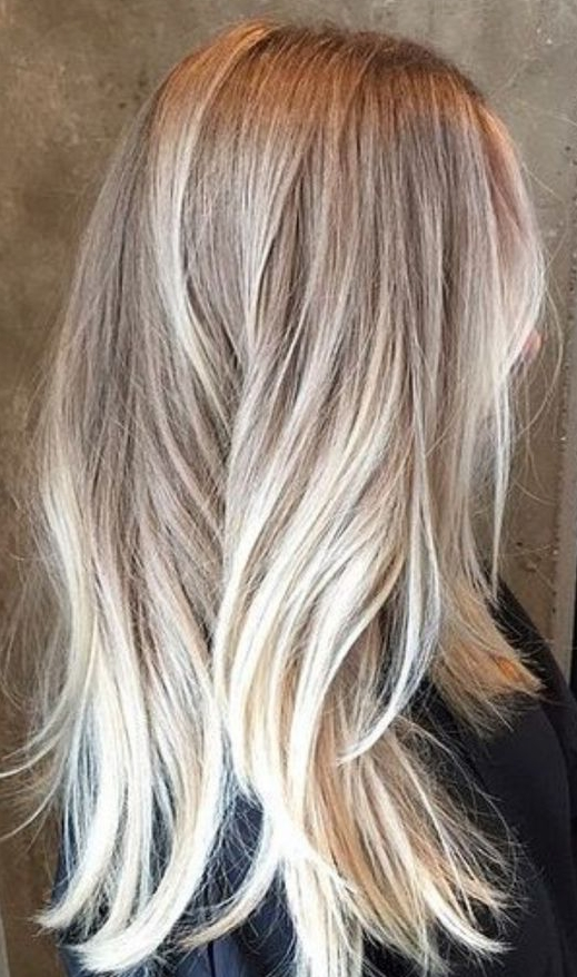 Color Melt Hair | 35 Ideas For Seamless Color Melting Looks Regarding Blonde Color Melt Hairstyles (View 4 of 25)