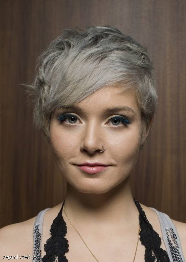 Color Trend: Silver Grey With Regard To Current Silver And Brown Pixie Hairstyles (View 18 of 25)