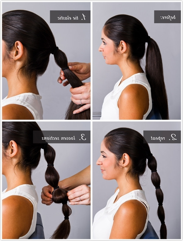 Community Post: 7 Easy Hair Tutorials Even Disney Princesses Would With Regard To Princess Tie Ponytail Hairstyles (View 13 of 25)
