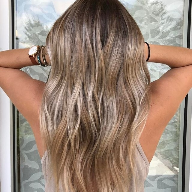 Cool Blonde Color Melt #hair #balayage #balayageombre #balayagehigh Within Blonde Color Melt Hairstyles (View 17 of 25)