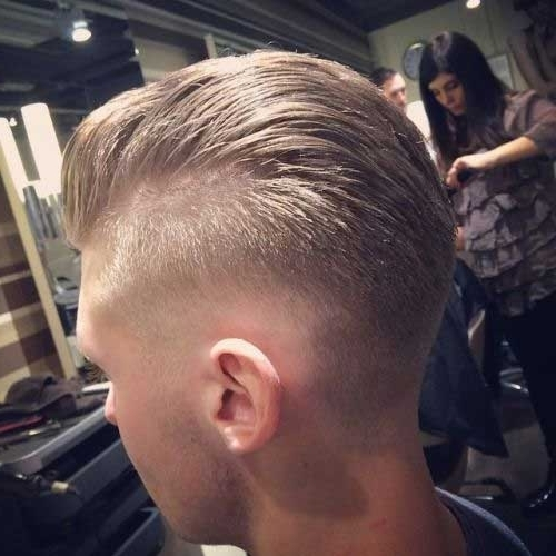 Cool Fade Haircut For Boys | Mens Hairstyles 2018 Regarding Fade To White Blonde Hairstyles (View 18 of 25)
