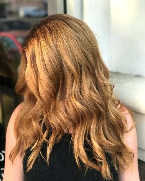 Copper Blonde Hair Next Level Copper Hairstyle Strawberry Blonde With Light Copper Hairstyles With Blonde Babylights (View 18 of 25)