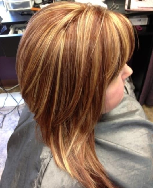 Copper Highlights In Blonde Hair Pictures – Best Image Of Blonde Throughout Light Copper Hairstyles With Blonde Babylights (View 18 of 25)