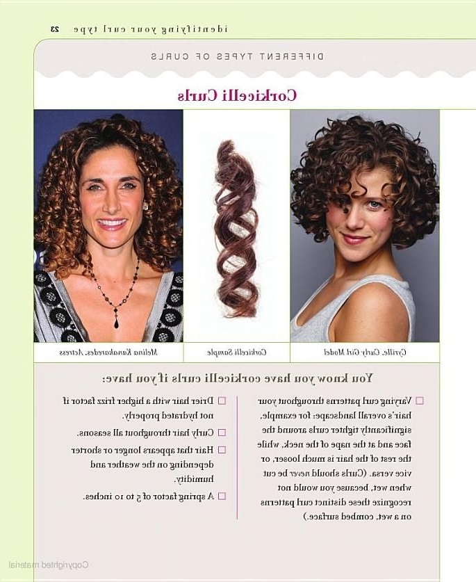 Corkicelli Curls: Identify Your Curl Type From Curly Girl (View 10 of 25)