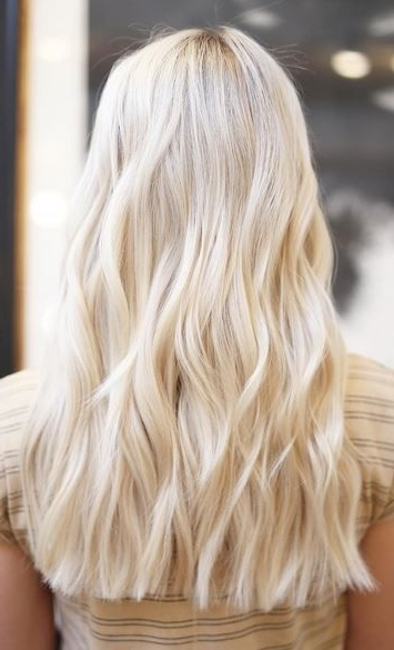 Creamy, Banana Butter Blonde. Colorchristine Silverman (View 20 of 25)