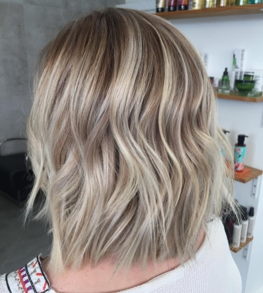 Creamy Blond Is The Latest Glamorous Hair Colour | Beauty Within Cream Colored Bob Blonde Hairstyles (View 18 of 25)