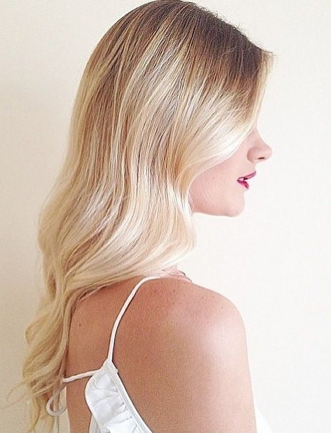 Creamy Blonde Balayage – Google Search | Hair & Beauty | Pinterest Inside Creamy Blonde Fade Hairstyles (View 11 of 25)