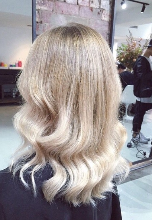 Featured Photo of Creamy Blonde Fade Hairstyles