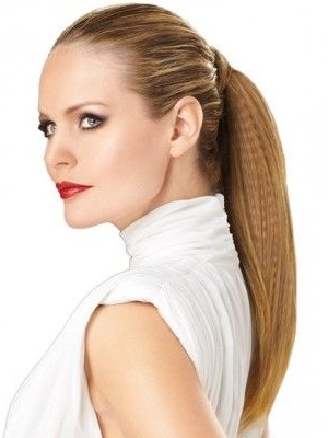 Featured Photo of Crimped Pony Look Ponytail Hairstyles