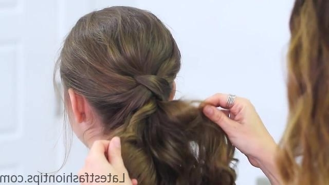 Criss Cross Ponytail Hairstyles For School | Latestfashiontips ® With Regard To The Criss Cross Ponytail Hairstyles (View 8 of 25)
